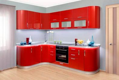 """Кухня """"Красный крокус"""""""
